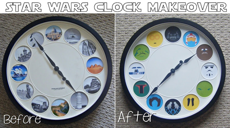 Star Wars Clock | allonsykimberly.com