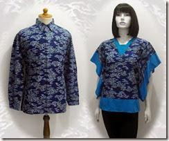 model baju batik trendy