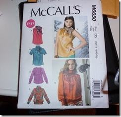 McCall's 6650