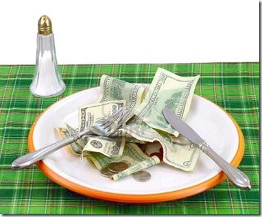mangiare-il-denaro