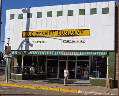 Kemmerers Claim To Fame Is The Original JC Penney Store Iconic Department First Opened Here In 1902