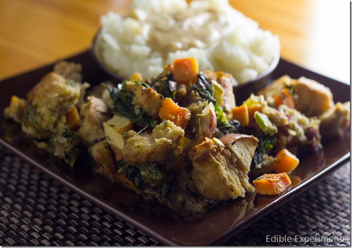 Sweet Potato Kale Stuffing