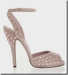Gucci Swarovski Crystal Suede Sandals