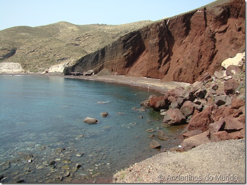 Red Beach Grécia Santorini RedBeach