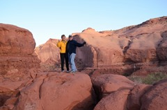 Sheltered Canyon in Monument Valley...Goulding's Camp Park
