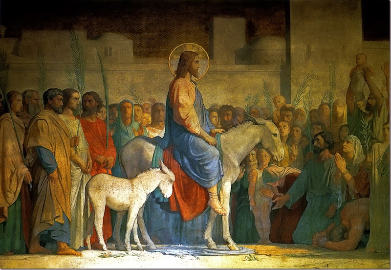 Christs Entry into Jerusalem by Hippolyte Flandrin 1842