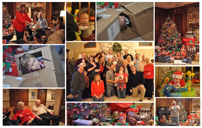 Nebraska Christmas Collage 2011
