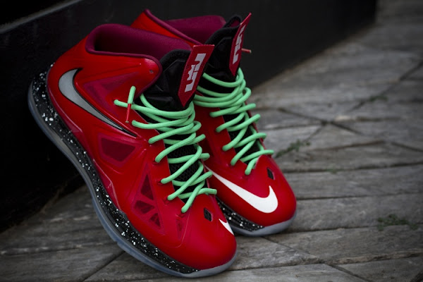 Nike LeBron X iD Inspired by Christmas 88217s Build by gentry187