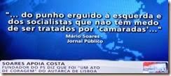 Mario Soares apoia António Costa.Mai.2014