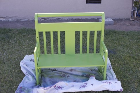 toddler bed bench - My Repurposed Life®