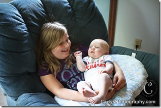 August 15, 2011-Kyton 2 month - pic a day