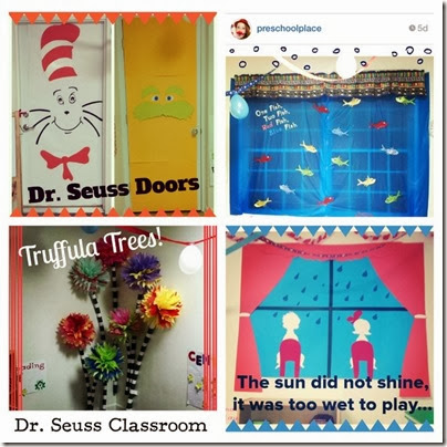 Dr-Seuss-Classroom-decorate-door-PreschoolPlace