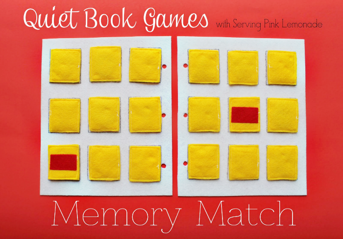 Quiet Book Cover Template ~ Simple quiet book series memory match game pinnutty