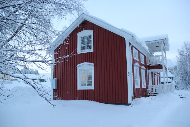 vinterbild Norrbotten Piteå