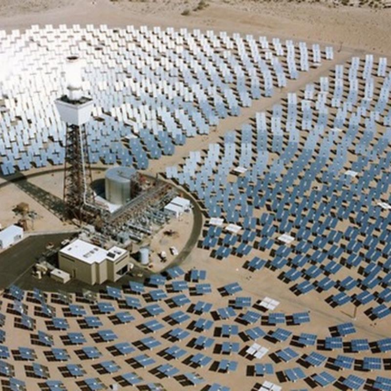 La central solar termoeléctrica de torre con almacenamiento más grande del mundo.