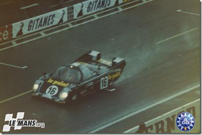 1980 24 HEURES DU MANS #16 Rondeau (Jean Rondeau) Jean Pierre Jaussaud (F) - Jean Rondeau (F)   res01