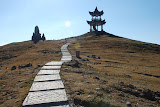 Tianshan - Ascencion vers ancien temple