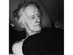 George Whitman, founder of Shakespeare and Company in Paris, on his 97th birthday. <em>© Margo Berdeshevsky</em>