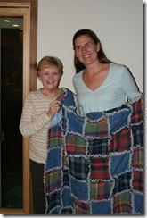 Joyce, Amy, rag quilt