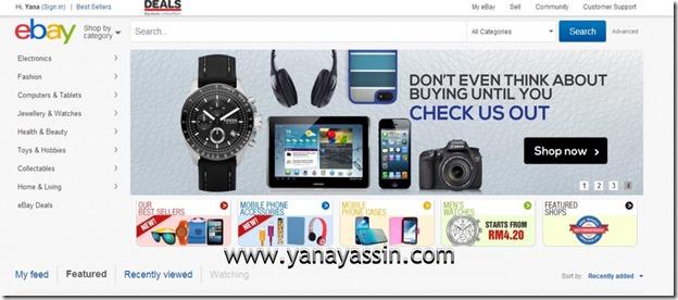 Ebay malaysia 100