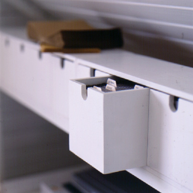 Any unit with multiple compartments is ideal for organizing a desk.