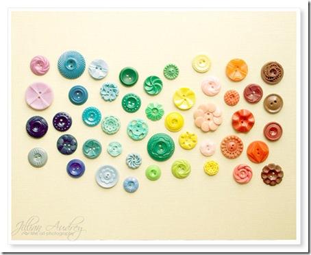 Rainbow Buttons Jillian Audrey