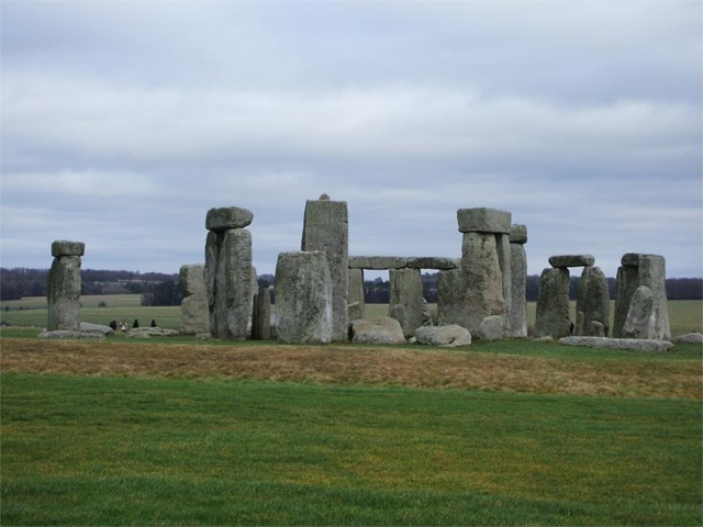 Stonehenge - the western face