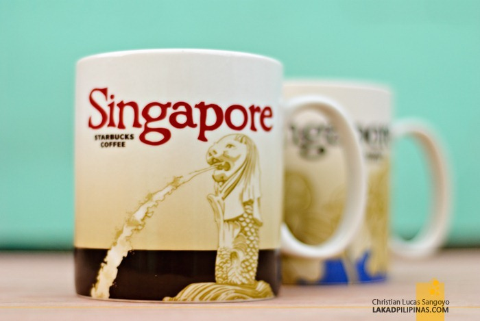 Merlion Singapore Starbucks Global Icon City Mug