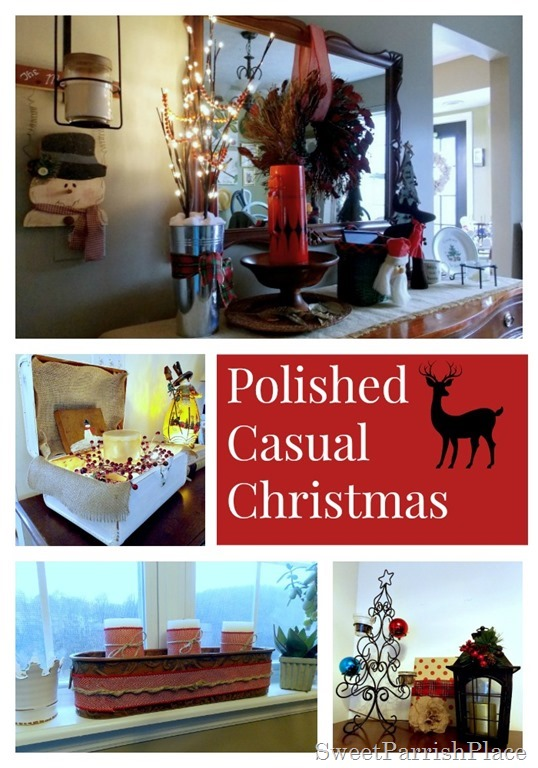 polished casual christmas