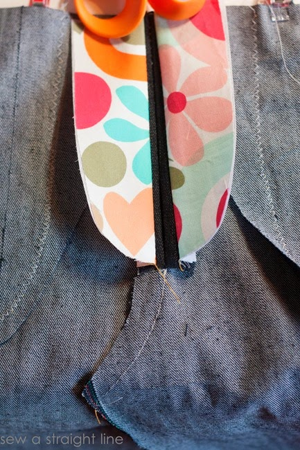 zipper fly jeans sew along sew a straight line-8