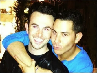 Christian Chavéz e ex namorado