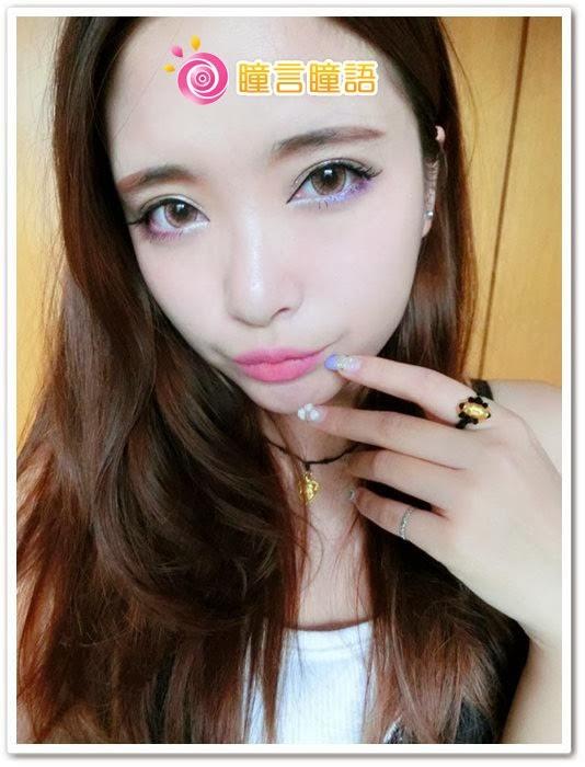 日本ROYAL VISION隱形眼鏡-蜜桃甜心粉紅16