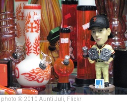 'Tim Lincecum bobblehead with bongs' photo (c) 2010, Aunti Juli - license: http://creativecommons.org/licenses/by/2.0/