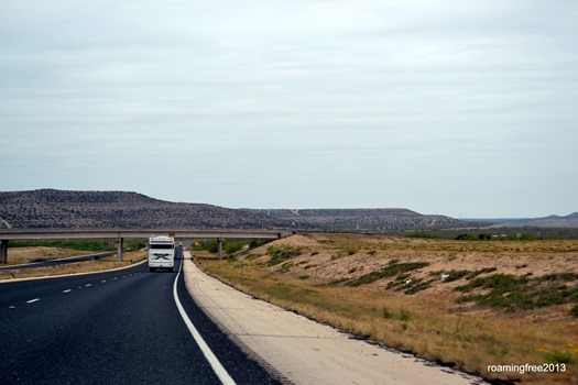 I-10 through Texas