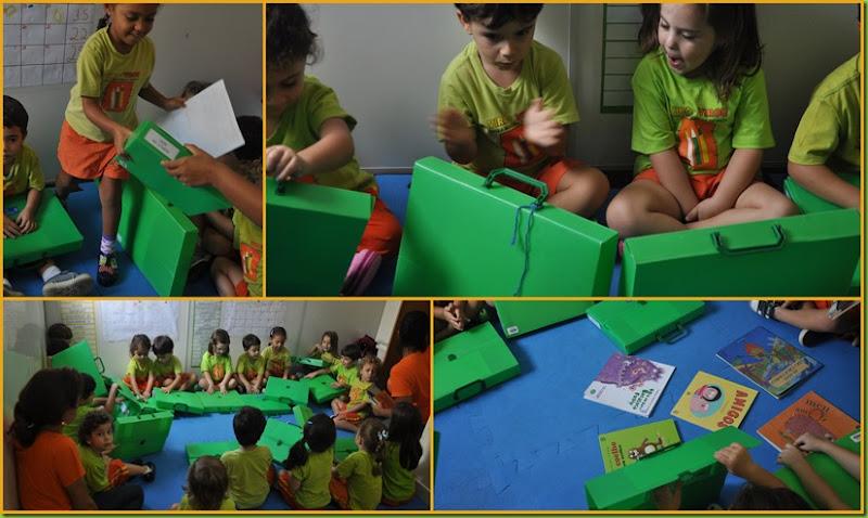 Infantil 3 Tarde - Escolha de livro4