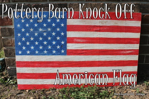 american flag sign pottery barn knock off-014