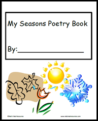 Seasons Poetry Journal for Elementary Students - FREE