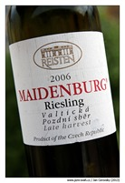 reisten_riesling_2006_maidenburg