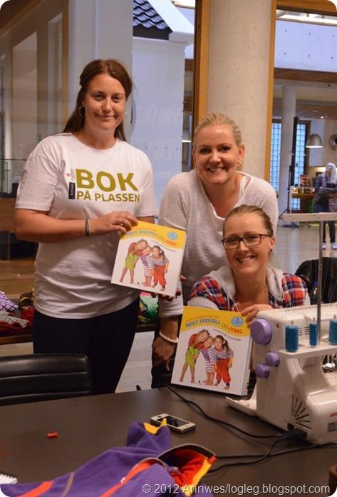 Heilt Spesiell og Jubel sy glade klær til glade barn av Kristin Thorsnes og Ane Sund, redaktør Ann Kristin Nås Gjerde