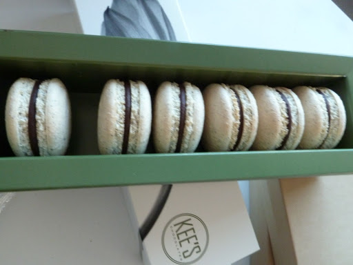 Kee's Chocolates' macarons were showcased, in addition to her decadent truffles.