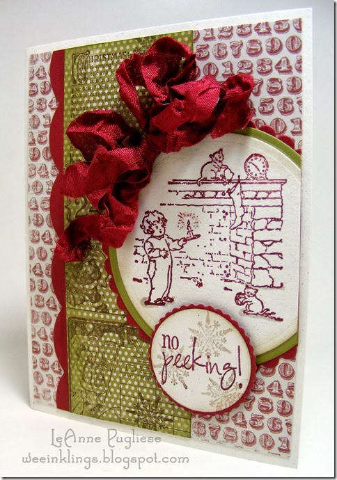 LeAnne Pugliese WeeInklings Merry Monday 94 Stampin Christmas