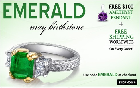 Emerald Gem Offer End Of May