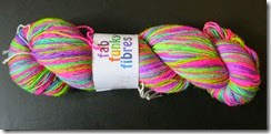 Fab Funky Fibers - New Double Bubble toil and trouble