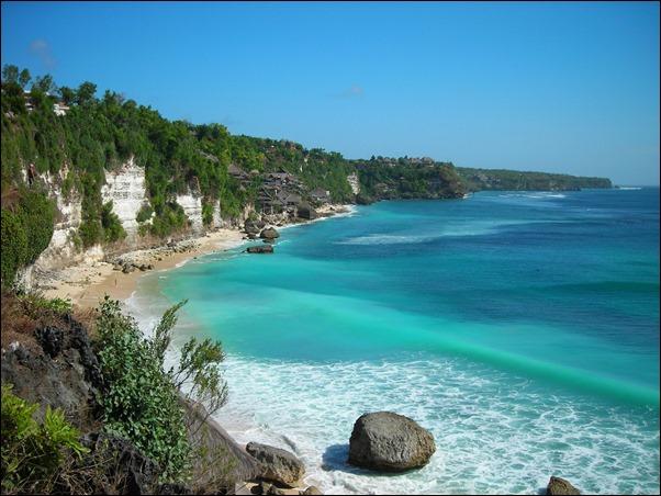 شاطئ في جزيرة بالي