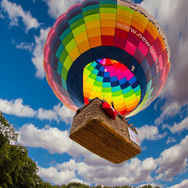 Balloon perspective by Pascal Hubert - Transportation Other