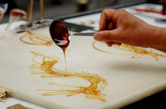 Pintura com açúcar 01