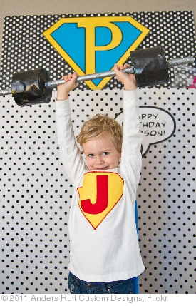 'Superhero themed party by Anders Ruff for 3 year old child as photographed by Becca Bond' photo (c) 2011, Anders Ruff Custom Designs - license: http://creativecommons.org/licenses/by-nd/2.0/