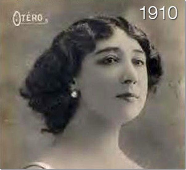 A evolução do cabelo das mulheres (2)