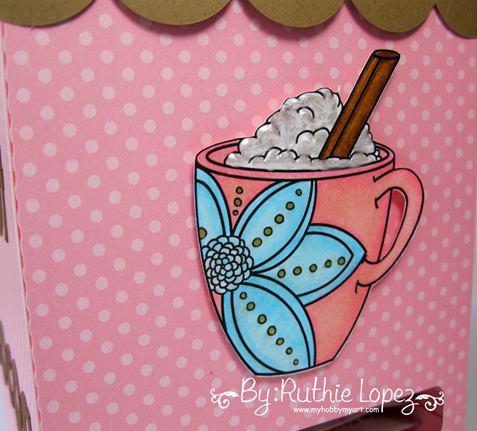 Limite Run - Flower Mug - Chocolate Dispenser - Ruthie Lopez - My Hobby My Art  2