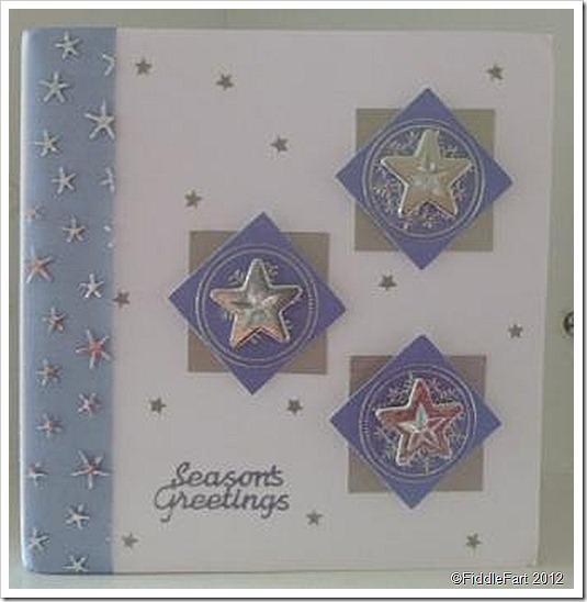 Christmas Stars Christmas Card
